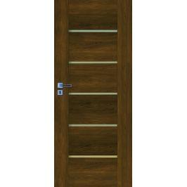 Interiérové dveře NATUREL Aura, 70 cm, pravé, ořech karamelový, AURAOK70P