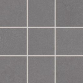 Dlažba Rako Trend tmavě šedá 10x10 cm, mat, rektifikovaná DAK12655.1
