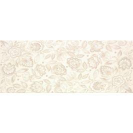 Dekor Venus Aria V beige Flowers 20x50 cm, pololesk DARIAFLBE