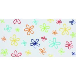 Dekor Fineza Happy mix barev Flower 20x40 cm, mat WITMB318