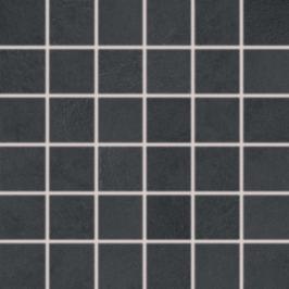 Mozaika Rako Clay černá 30x30 cm, mat, rektifikovaná DDM06643.1