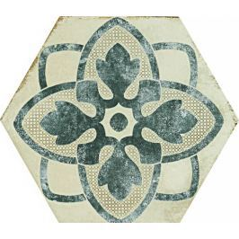 Dlažba Ragno eden cotone dekor tappeto 1 21x18,2 cm, mat ERF8P