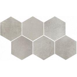 Dekor Rako Via šedá 21x37 cm, mat, rektifikovaná DDVT8711.1