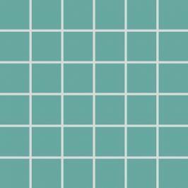 Mozaika Rako Color Two tyrkysová 30x30 cm, mat GDM05467.1