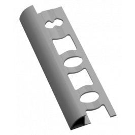 Lišta ukončovací oblá PVC světle šedá, 8 mm, 250 cm L82503