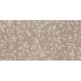Dekor Rako Textile hnědá 20x40 cm, mat WADMB113.1