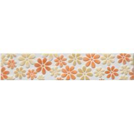 Listela Multi Tango oranžová 5x25 cm mat WLAGE107.1