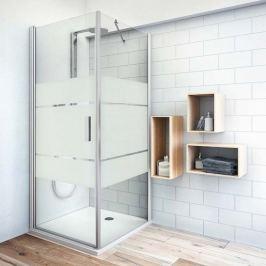 Boční zástěna ke sprchovým dveřím 100x200,8 cm pravá Roth Tower Line chrom matný 725-100000P-01-20