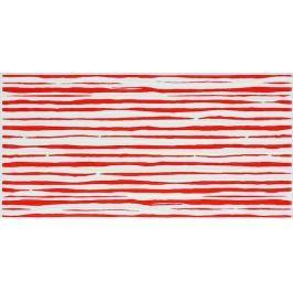 Dekor Fineza Happy červená 20x40 cm, lesk WITMB312.1