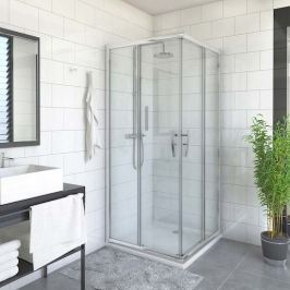 Sprchové dveře 100x185 cm levá Roth Proxima Line chrom lesklý 537-1000000-00-02