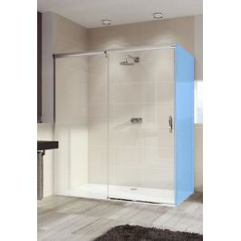 Sprchové dveře 140x200 cm levá Huppe Aura elegance chrom lesklý 401416.092.322.730