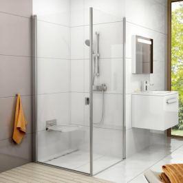 Boční zástěna ke sprchovým dveřím 100x195 cm Ravak Chrome bílá 9QVA0100Z1