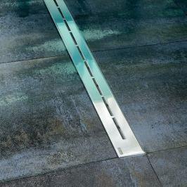 Sprchový žlab Ravak Runway 75 cm nerez lesk lines X01625