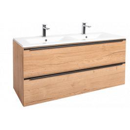 Koupelnová skříňka s umyvadlem Naturel Nobia 120x60x46 cm dub Sierra NOBIA120ZDS