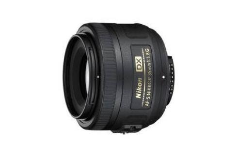 Nikon NIKKOR 35 mm f/1.8G AF-S DX černý Objektivy