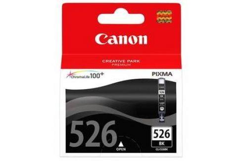 Canon CLI-526Bk, 9ml  - originální (4540B001) černá Inkoustové náplně