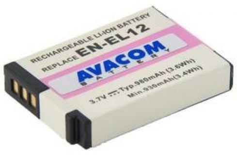 Avacom Nikon EN-EL12 Li-ion 3,7V 980mAh (DINI-EL12-734) Akumulátory
