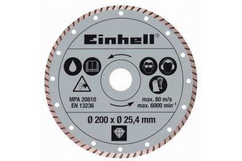 Kotouč diamantový Einhell, 200x25,4 mm k řezačkám TPR 200/2 a RT-SC 560 U Příslušenství pro brusky