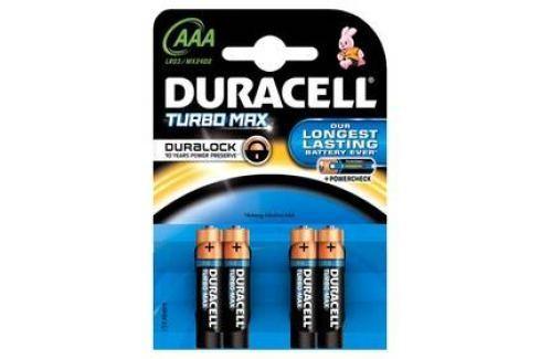 Duracell Turbo AAA, LR03, blistr 4ks Baterie