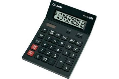 Canon AS-1200 (4599B001) černá Kalkulačky