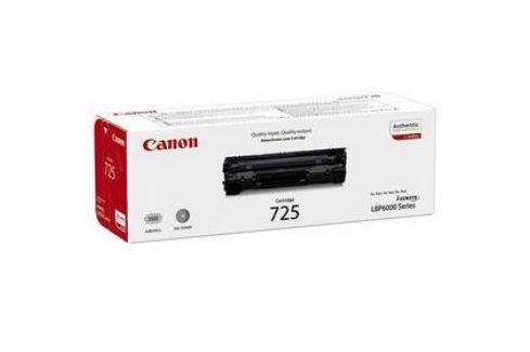 Canon CRG-725, 1,6K stran, originální (3484B002) černý Tonery
