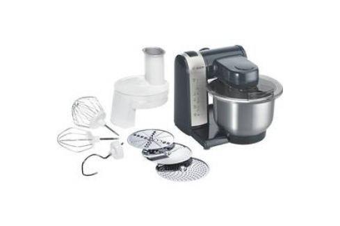 Bosch MUM48A1 černý/stříbrný Kuchyňské roboty