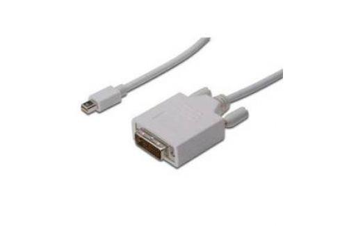 Digitus minDisplayPort - DVI(24+1), 2m (AK-340305-020-W) bílý Celý sortiment
