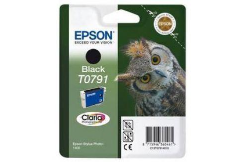 Epson T0791, 11ml - originální (C13T07914010) černá Inkoustové náplně