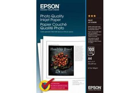Epson Photo Quality A4, 102g, 100 listů (C13S041061) bílý Papíry