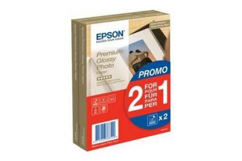 Epson Premium Glossy Photo 10x15, 225g, 80 listů (C13S042167) bílý Papíry
