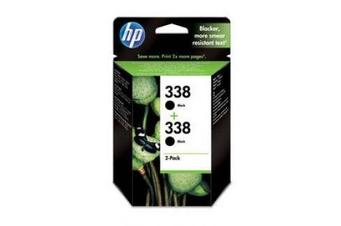 HP 2x 338, 960 stran - originální (CB331EE) černá Inkoustové náplně