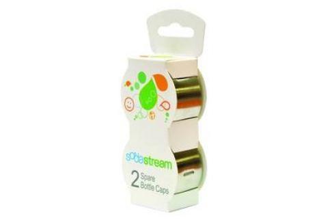 Víčko SodaStream na plastové láhve, nerez (2ks) Příslušenství pro výrobníky sody