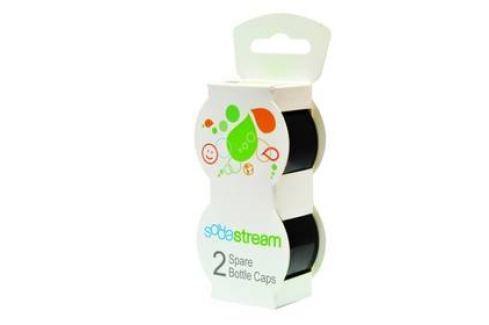 Víčko SodaStream na plastové láhve, černé (2ks) Příslušenství pro výrobníky sody