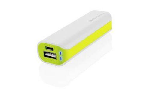 GoGEN 2600mAh (GOGPB26002WG) bílá/zelená Externí baterie (Powerbanky)