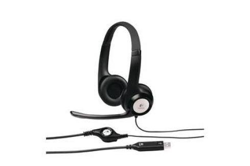 Logitech H390 USB (981-000406) černý Headsety