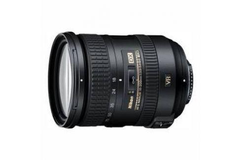 Nikon 18-200 mm f/3.5 – 5.6G AF-S DX VR II černý Objektivy