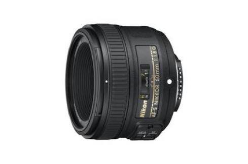 Nikon NIKKOR 50 mm f/1.8G AF-S černý Objektivy