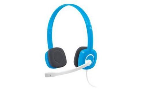 Logitech Stereo H150 - blueberry (981-000368) Headsety