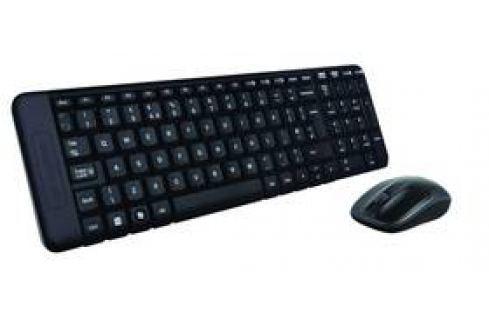 Logitech Wireless Combo MK220, CZ/SK (920-003165) černá Sety klávesnice s myší