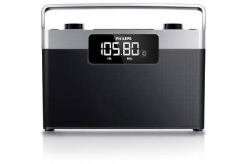 Philips AE2430 černý/stříbrný Radiopřijímače