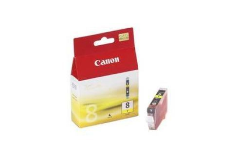 Canon CLI-8Y, 420 stran - originální (0623B001) žlutá Inkoustové náplně