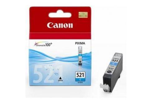 Canon CLI-521C, 530 stran - originální (2934B001) modrá Inkoustové náplně