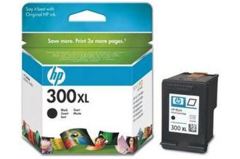 HP No. 300XL, 12 ml, 600 stran - originální (CC641EE) černá Inkoustové náplně