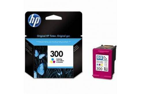 HP No. 300, 4 ml, 165 stran, CMY - originální (CC643EE) Inkoustové náplně