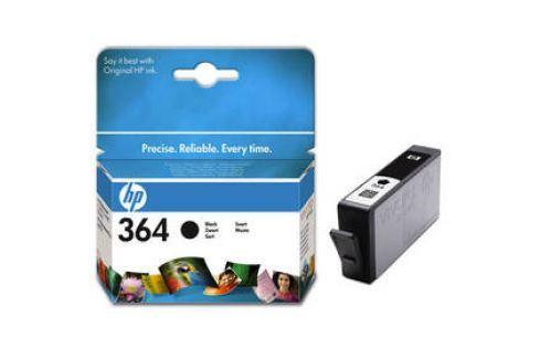 HP No. 364, 250 stran (CB316EE) černá Inkoustové náplně