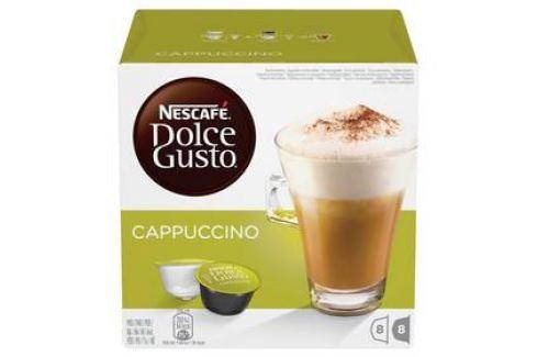 NESCAFÉ Dolce Gusto® Cappuccino kávové kapsle 16 ks Kapsle a káva