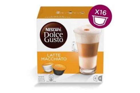 NESCAFÉ Dolce Gusto® Latte Macchiato kávové kapsle 16 ks Kapsle a káva