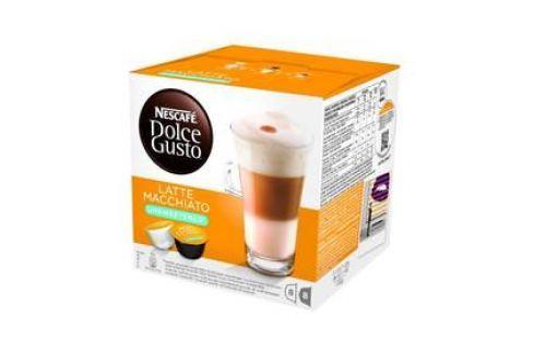 NESCAFÉ Dolce Gusto® Latte Macchiato bez cukru kávové kapsle 16 ks Kapsle a káva