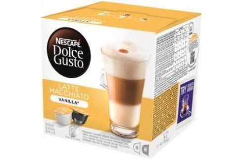 NESCAFÉ Dolce Gusto® Latte Macchiato Vanilla kávové kapsle 16 ks Kapsle a káva
