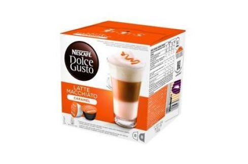 NESCAFÉ Dolce Gusto® Latte Macchiato Caramel kávové kapsle 16 ks Kapsle a káva